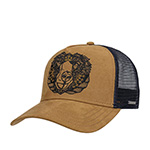 Бейсболка STETSON арт. 7756104 TRUCKER CAP BEAR (коричневый) {62}