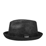 Шляпа STETSON арт. 1187101 PLAYER PIGSKIN (черный) {1}