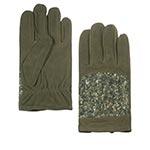 Перчатки STETSON арт. 9497204 GLOVES GOAT NUBUCK (оливковый)