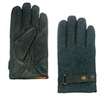 Перчатки STETSON арт. 9497205 GLOVES GOAT NAPPA-WOOL (темно-синий)