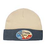 Шапка STETSON арт. 8599110 BEANIE TEXAS (бежевый / синий)