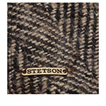 Кепка STETSON арт. 6170504 IVY HERRINGBONE (бежевый / черный)