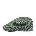 Кепка STETSON арт. 6170504 IVY HERRINGBONE (зеленый / бежевый)