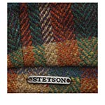 Кепка STETSON арт. 6840322 HATTERAS PATCHWORK (коричневый / зеленый)