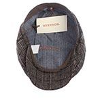 Кепка STETSON арт. 6840404 HATTERAS WOOL (коричневый / серый)
