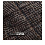Кепка STETSON арт. 6210403 KENT WOOL (коричневый / серый)