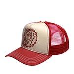 Бейсболка STETSON арт. 7751163 TIGER CHAIN (белый / красный)