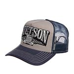 Бейсболка STETSON арт. 7751166 TRUCKER CAP TRUCKING (синий / серый)