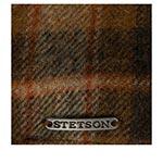 Кепка STETSON арт. 6610312 TEXAS LAMBSWOOL CHECK (коричневый / бежевый)