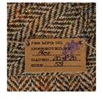 Кепка STETSON арт. 6640508 6-Panel Cap Harris Tweed (бежевый / коричневый)