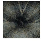Кепка STETSON арт. 6840327 HATTERAS LAMBSWOOL CHECK (серый / синий)