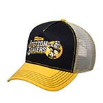 Бейсболка STETSON арт. 7751181 TRUCKER CAP FOOTBALL BEAVER (желтый / черный)