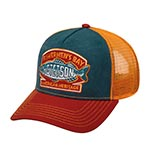 Бейсболка STETSON арт. 7756106 TRUCKER CAP FISHERMEN?S BAY (оранжевый / синий)