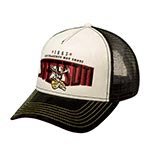 Бейсболка STETSON арт. 7756107 TRUCKER CAP HOT SHOTS (черный / белый)