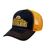 Бейсболка STETSON арт. 7756108 TRUCKER CAP FIREWALKERS (синий / желтый)