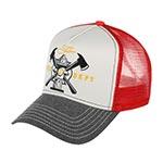 Бейсболка STETSON арт. 7751180 TRUCKER CAP FIRE DEPT (серый / красный)