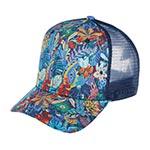 Бейсболка STETSON арт. 7781909 BASEBALL CAP COTTON (синий / красный)