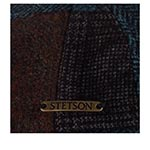 Кепка STETSON арт. 6380908 DRIVER CAP PATCHWORK (синий / коричневый)