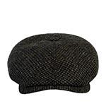 Кепка STETSON арт. 6640902 6-PANEL CAP HARRIS TWEED (оливковый / черный)