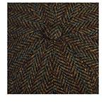 Кепка STETSON арт. 6840527 HATTERAS HARRIS TWEED (коричневый)