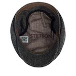 Кепка STETSON арт. 6840529 HATTERAS EF WOOL HERRINGBONE (серый)