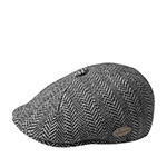 Кепка KANGOL арт. K1221CO Herringbone 507 (черный)