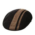 Кепка KANGOL арт. K3167HT Code Stripe 504 (черный / коричневый)