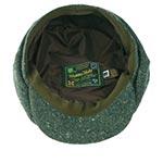 Кепка HANNA HATS арт. Newsboy 20B2 (зеленый / серый)
