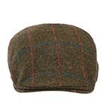 Кепка HANNA HATS арт. Donegal Touring DTC2 (коричневый / зеленый)