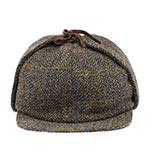Кепка HANNA HATS арт. Sherlock Holmes SH2 (коричневый)