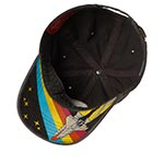 Бейсболка AMERICAN NEEDLE арт. 36670A-NASA Space with NASA New Raglan (черный)