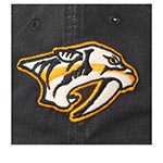 Бейсболка AMERICAN NEEDLE арт. 36672A-NAP Nashville Predators New Raglan NHL (темно-синий)