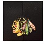 Бейсболка AMERICAN NEEDLE арт. 400A1V-CBH Chicago Blackhawks 400 Series NHL (черный / красный)