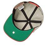 Бейсболка AMERICAN NEEDLE арт. 400A1V-HOS Hollywood Stars 400 Series MILB (серый / красный)