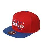 Бейсболка AMERICAN NEEDLE арт. 400A1V-WAC Washington Capitals 400 Series NHL (красный / синий)