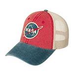 Бейсболка AMERICAN NEEDLE арт. 43350A-NASA Space with NASA (красный / синий)