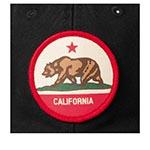 Бейсболка AMERICAN NEEDLE арт. 43870A-CALI California (черный)