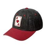 Бейсболка AMERICAN NEEDLE арт. 44740A-ANA Anaheim Aces Archive MILB (черный / красный)