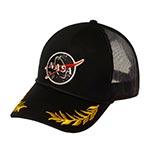 Бейсболка AMERICAN NEEDLE арт. 45030A-NASA Space with NASA (черный)