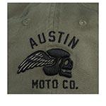 Бейсболка AMERICAN NEEDLE арт. 20001A-AUSTINMO Austin Motor Company (оливковый)