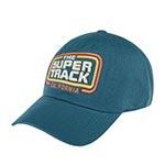 Бейсболка AMERICAN NEEDLE арт. 20001A-SUPERT The Super Track (синий)