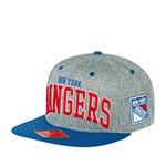 Бейсболка AMERICAN NEEDLE арт. 42992A-NYR New York Rangers Stanton NHL (серый / синий)
