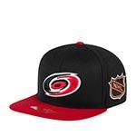 Бейсболка AMERICAN NEEDLE арт. 43732A-CAH Carolina Hurricanes Blockhead NHL (черный / красный)