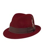 Шляпа BAILEY арт. 7001 TINO (бордовый)