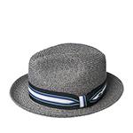 Шляпа BAILEY арт. 81650 SALEM (серый / черный) {gravel}