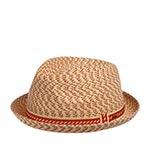 Шляпа BAILEY арт. 81690 MANNES (бежевый / розовый)