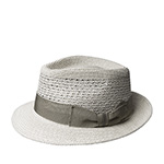 Шляпа BAILEY арт. 81801 WILSHIRE (светло-серый) {shell}