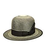 Шляпа BAILEY арт. 22758BH COPLEY (черный / белый) {Blackstripe}
