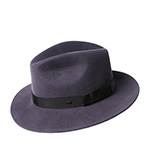 Шляпа BAILEY арт. 37176BH HEREFORD (темно-серый)