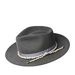 Шляпа BAILEY арт. 20002BH BARTHAM (темно-серый)